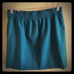 J. Crew wool blend skirt, size 10